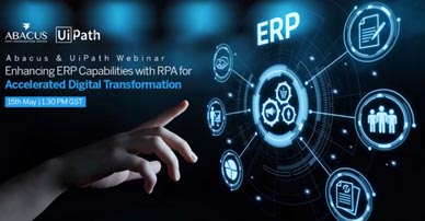 Enhancing ERP Capabilities with RPA for 							accelerated digital transformation